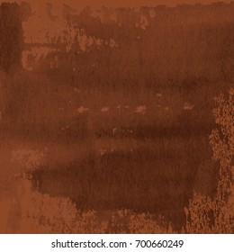 abstract texture of dark brown rusted metal