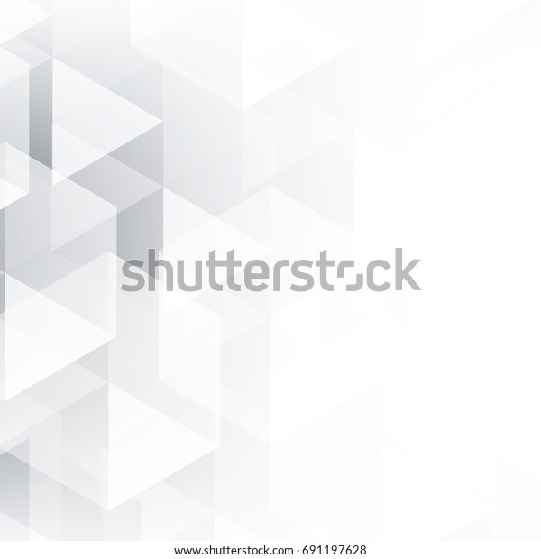 Abstract Texture Geometric White Gray Space Stock Vector (Royalty ...