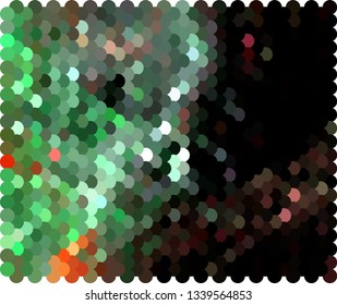 Abstract texture with halftone dots pattern