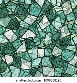 Abstract texture. A hodgepodge of colors. Marble pattern. Chaotic network. Seamless.
