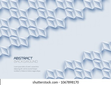 abstract texture vector background 3 d paper stock vector royalty