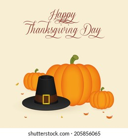 abstract thanksgiving day background with special objects
