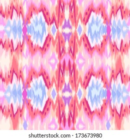 abstract tie-dye ikat like graphic ~ seamless background