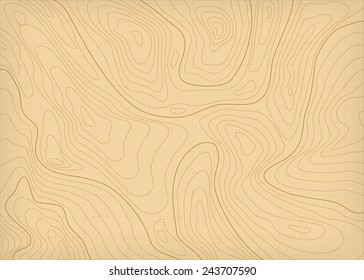 abstract topographic contours map background in brown colors