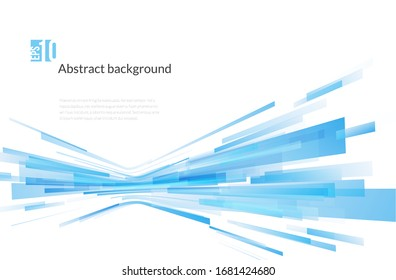 Abstract transparent overlapping background. Gradient vector image. Technology background with overlapped geometric squares.