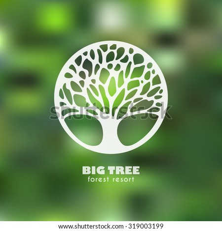 Abstract tree business sign vector template stock vector royalty abstract tree business sign vector template four seasons concept vector icon corporate identity friedricerecipe Images