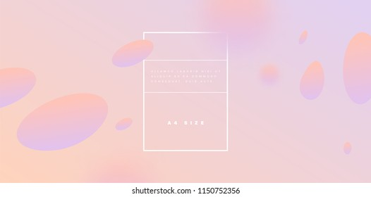 Abstract trendy liquid fluid shapes background. Eps10 vector illustration