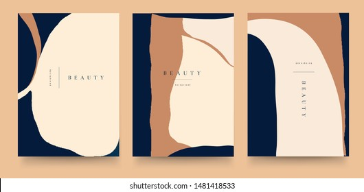 Abstract trendy pastel universal artistic templates. Good for cover, invitation, banner, placard, brochure, poster, card, flyer and other.