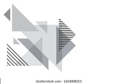 Abstract triangle background. Template for poster, backdrop, book cover, brochure, and vector illustration. Eps10 vector