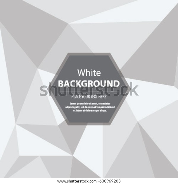 Abstract Triangle Background White Seamless Texture