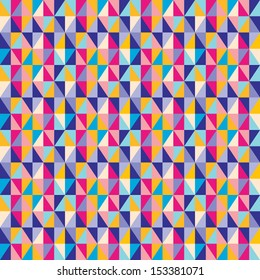 Abstract Triangle Geometrical seamless background.