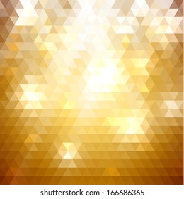 Abstract triangle pattern background - eps10