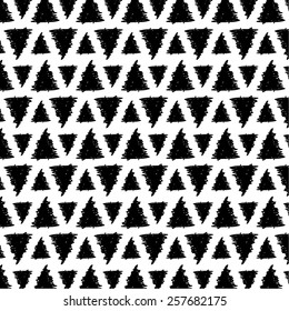 Abstract triangle pattern, vector background