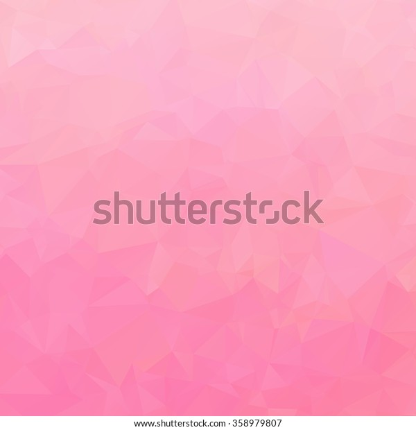 Abstract triangle pink texture background