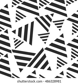 Abstract triangle seamless pattern background