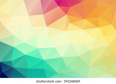 Abstract triangle shapes backgound