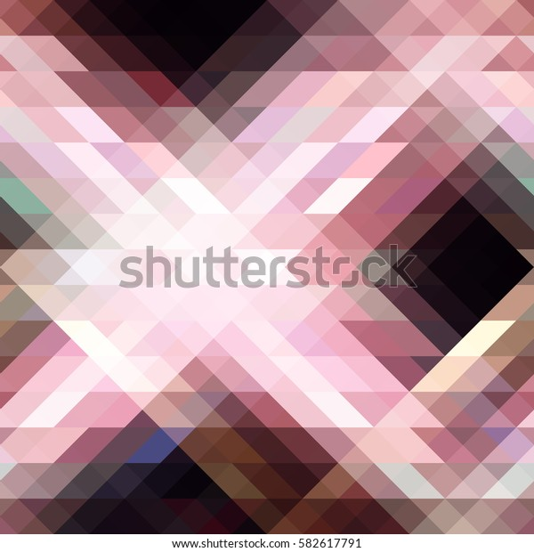 Abstract triangle texture. Vector illustration.