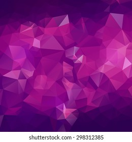 Abstract triangle violet texture background
