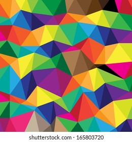 Abstract triangles background design  Eps 10 vector illustration