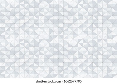 Abstract triangles seamless pattern. Geometric vector background.