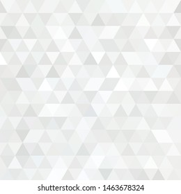 Abstract triangular background. Gray geometric pattern.