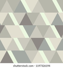 Abstract triangular seamless background