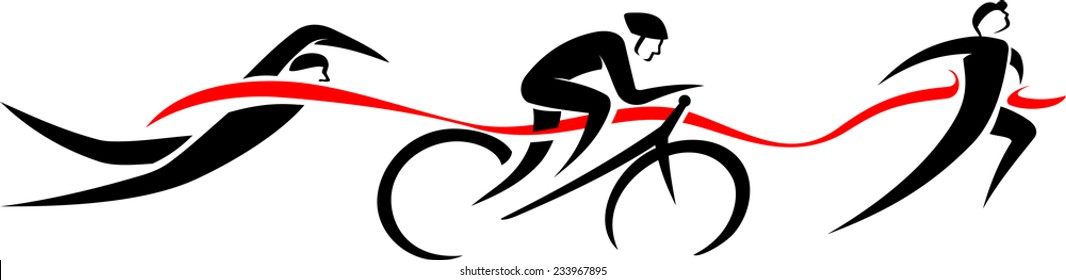 triathlon images stock photos vectors shutterstock rh shutterstock com triathlon clip art free triathlon images clipart