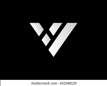 "Abstract ""V"" shape - Logo vector"