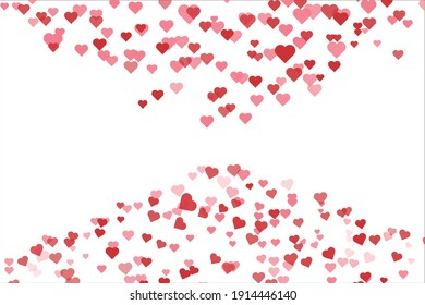 abstract valentine background and wallpaper : abstract love ornament design vector