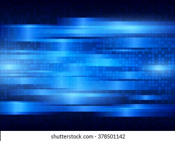 Abstract vector background with blue stripes