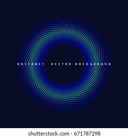 Abstract vector background, conceptual graphics