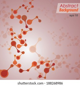 Abstract Vector Background - Creative Concept for Science , Technology & Medical.