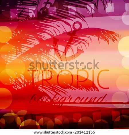 Abstract Vector Background Frame Film Evening Stock Vector Royalty