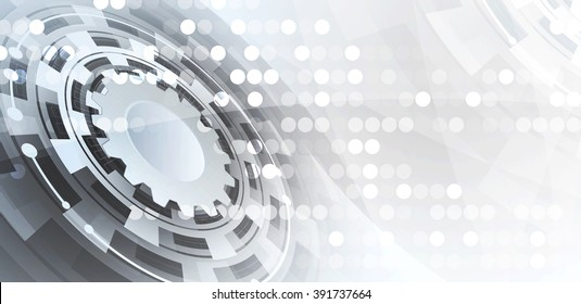 Abstract vector background. Futuristic technology style. Elegant background for business tech presentations.