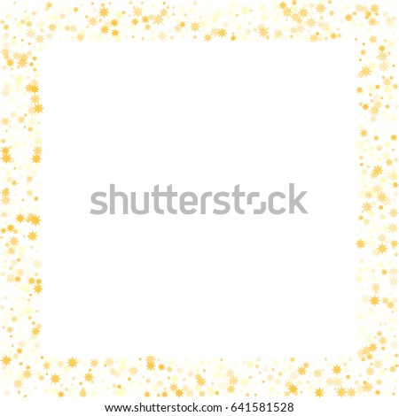 ff162183e3ec Abstract Vector Background Gold Star Elements Stock Vector (Royalty ...