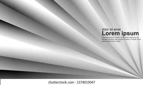 Abstract vector background. Abstract gray vector background with overlap, modern design . Layout design