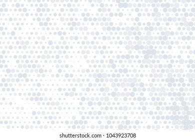 Abstract vector background. Halftone modern graphic template. Grey and white Dotted texture.