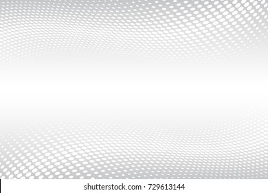 Abstract vector background. Halftone modern graphic template. Grey Dotted texture.