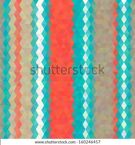 Abstract Vector Background Polygon Mosaic Style Stock Vector