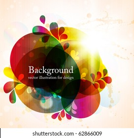 abstract vector background for retro design. eps 10