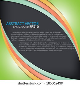 Abstract vector background and shadow for modern web design eps10