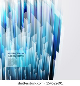 abstract vector background with straight blue lines