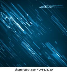 Abstract vector background, technology illustration, stylish eps10