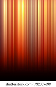 Abstract Vector Background with Warm Colored Vertical Stripes. Colorful Bg. Modern Graphic for Banners and Posters.