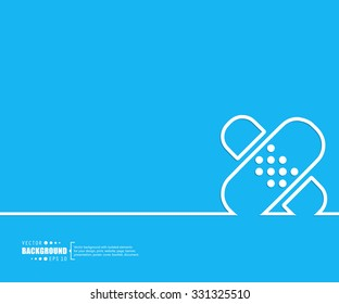 Abstract vector background. For web and mobile app, illustration template design, creative business info graphic, brochure, banner, presentation, concept poster, cover, booklet, document, line logo.