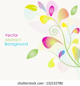 Abstract vector background for your projects