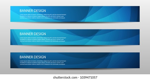 Abstract vector banners with bright geometric background \u002F annual report \u002F design templates \u002F future Poster template design