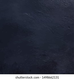 An abstract vector black slate background, a dark color swatch
