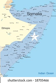 Map of Somalia Images, Stock Photos & Vectors | Shutterstock