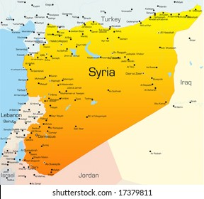 Turkey Syria Map Images, Stock Photos & Vectors | Shutterstock